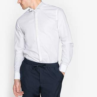 La Redoute Collections Slim Fit Wing Collar Shirt