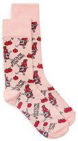 Topman Pink Ketch Me If You Can Socks