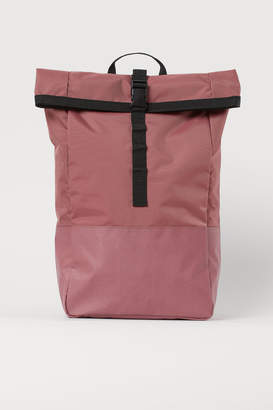 H&M Roll-top Backpack - Red
