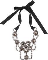 Self-Tie Rhinestone Necklace