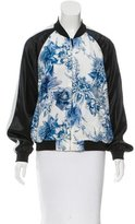 Barbara Bui Reversible Bomber Jacket