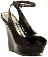 Liliana Honfleur Peep Toe Platform Wedge