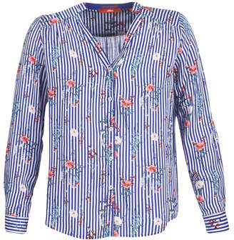 S'Oliver 04-899-61-5060-90G12 women's Blouse in Blue