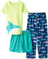 Carter's Boys 4-12 Shark 3-Piece Pajama Set
