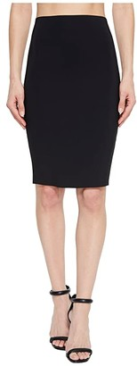 Commando Bonded Perfect Pencil Skirt SK02 (Black) Women's Skirt