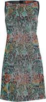 Missoni Lurex Floral Mini Shift Dress