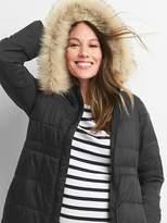 Maternity PrimaLoft® puffer jacket