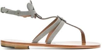 Álvaro González Cog-Detail Thong Sandals