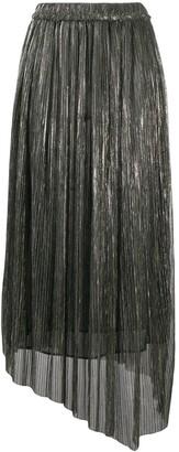 Etoile Isabel Marant Asymmetric Pleated Skirt
