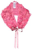 Oscar de la Renta Floral Silk Stole w/ Tags