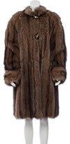 J. Mendel Fox Fur Coat