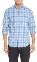 Vineyard Vines Men's Slim Fit Murray Ocean Walk Plaid Sport Shirt