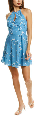Parker Keyhole Halter Mini Dress