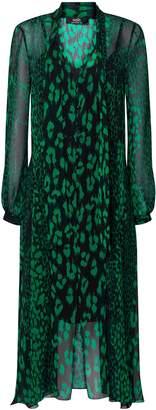 Wallis **TALL Green Animal Print Dress
