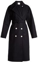 Tibi Notch-lapel double-breasted coat