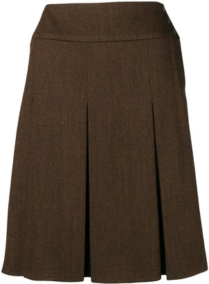 Chanel Pre-Owned 1997's pleated skirt