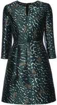 Yigal Azrouel leopard print flared dress - women - Polyester - 2