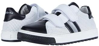 Naturino Seam Vl SS20 (Toddler/Little Kid) (White/Black) Boy's Shoes
