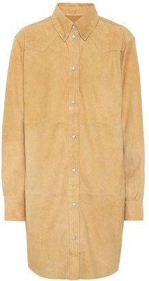 Etoile Isabel Marant Senna suede shirt dress
