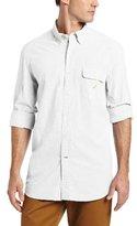 Nautica Men's Long Sleeve Solid Oxford Shirt