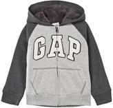 Gap Grey Raglan Cozy Hoodie