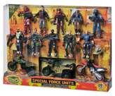 Bed Bath & Beyond The Corps Special Force Unit 10-Piece Action Figure Playset with Vehicles