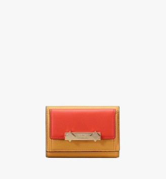 MCM Milano Mini Three-Fold Wallet