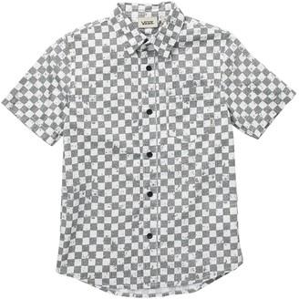 Vans By Foreverton Short Sleeve Check Print Shirt