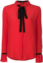 Paul Smith neck tie blouse