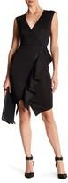 Rachel Roy Ruffled Zip Front Dress