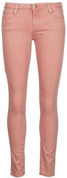 Acquaverde SCARLETT women's Cropped trousers in Pink