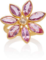 Marie Helene De Taillac Marie-Hélène de Taillac One-Of-A-Kind Sphene And Pink Sapphire Marguerite Ring