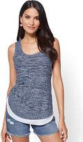 New York & Co. Twofer Tank Sweater