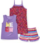 Komar Kids Meow Sleep Top Shorts & Pants - Toddler & Girls