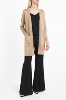 long gold cardigan - ShopStyle UK