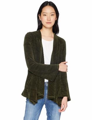 BB Dakota Women's Chenille of Fortune Knit Jacket