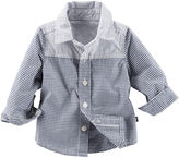 Osh Kosh Oshkosh Baby Bgosh Button-Front Shirt - Baby Boys newborn-24m