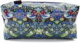Alice Caroline - Box Cosmetic Bag - Liberty Strawberry Thief Blue