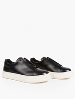 Eytys Black Doja Leather Lace Up Sneaker