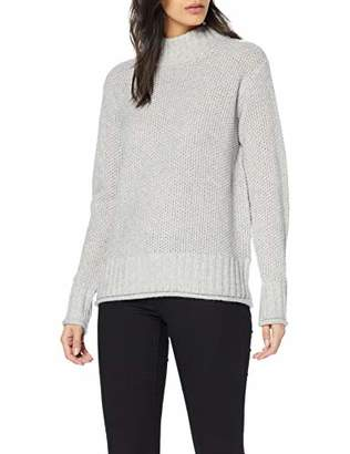 Street One Women's 300724 Jumper, (Moon Grey Melange 123)