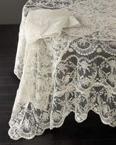 "Chantilly Lace Oblong Tablecloth, 108""L"