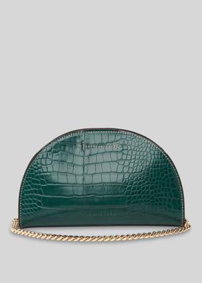 Miri Half Moon Croc Bag