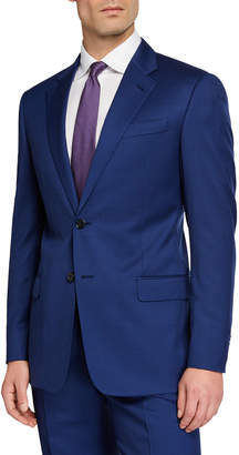 Emporio Armani Men's G Line Super 130s Wool Micro-Neat Two-Piece Suit