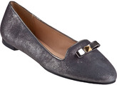 Kate Spade Treat Loafer Pewter Leather