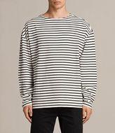AllSaints Ivan Long Sleeve Crew T-Shirt
