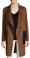 Soia & Kyo Double Face Wool Coat
