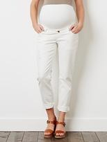"Vertbaudet Maternity Boyfriend Fit Jeans - Inside Leg 29"""