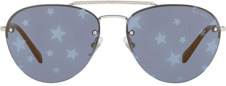 b32a34d3d842 Miu Miu Sunglasses For Women - ShopStyle Canada