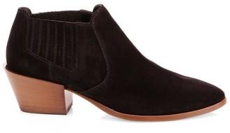 Tod's Block-Heel Suede Chelsea Boots