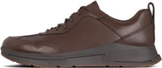 FitFlop Arken Mens Leather Sneakers